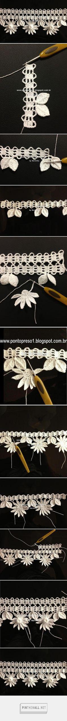 motivi crochet bordi - tecnica - created via http://pinthemall.net