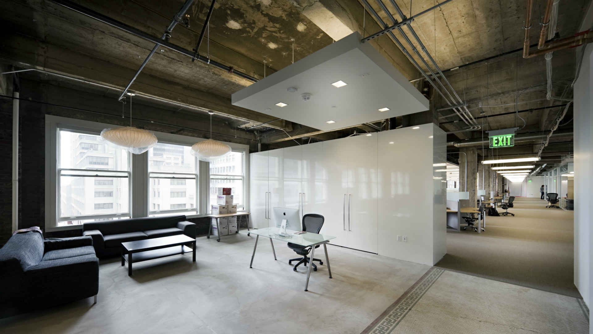 Check Out Twitter Co Founders Beautiful New Office Space Office