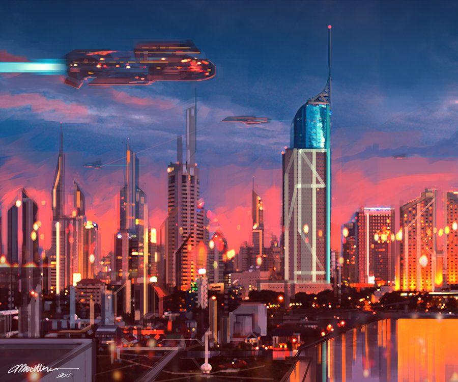 смотреть картинки города в будущем наибольшее количество вещества