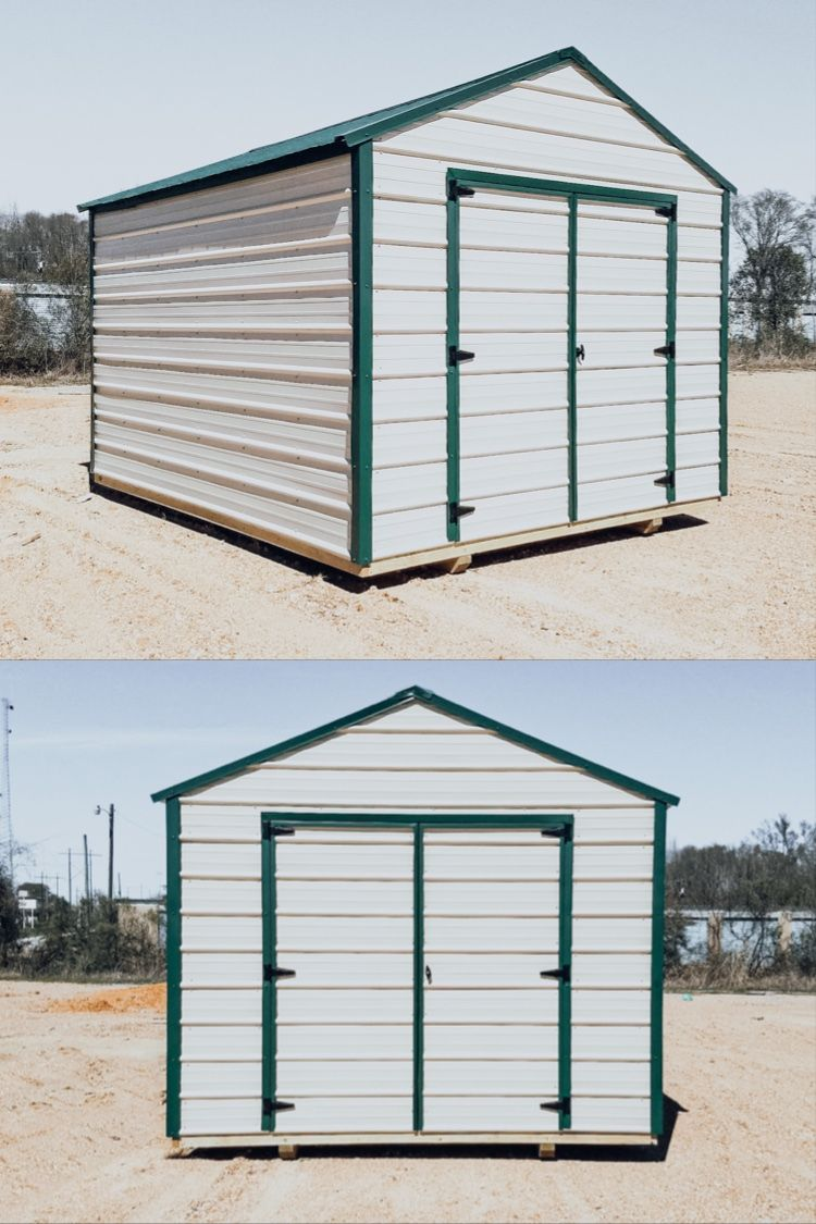 10x12 Metal Utility Portable Buildings Metal Shed Play Houses