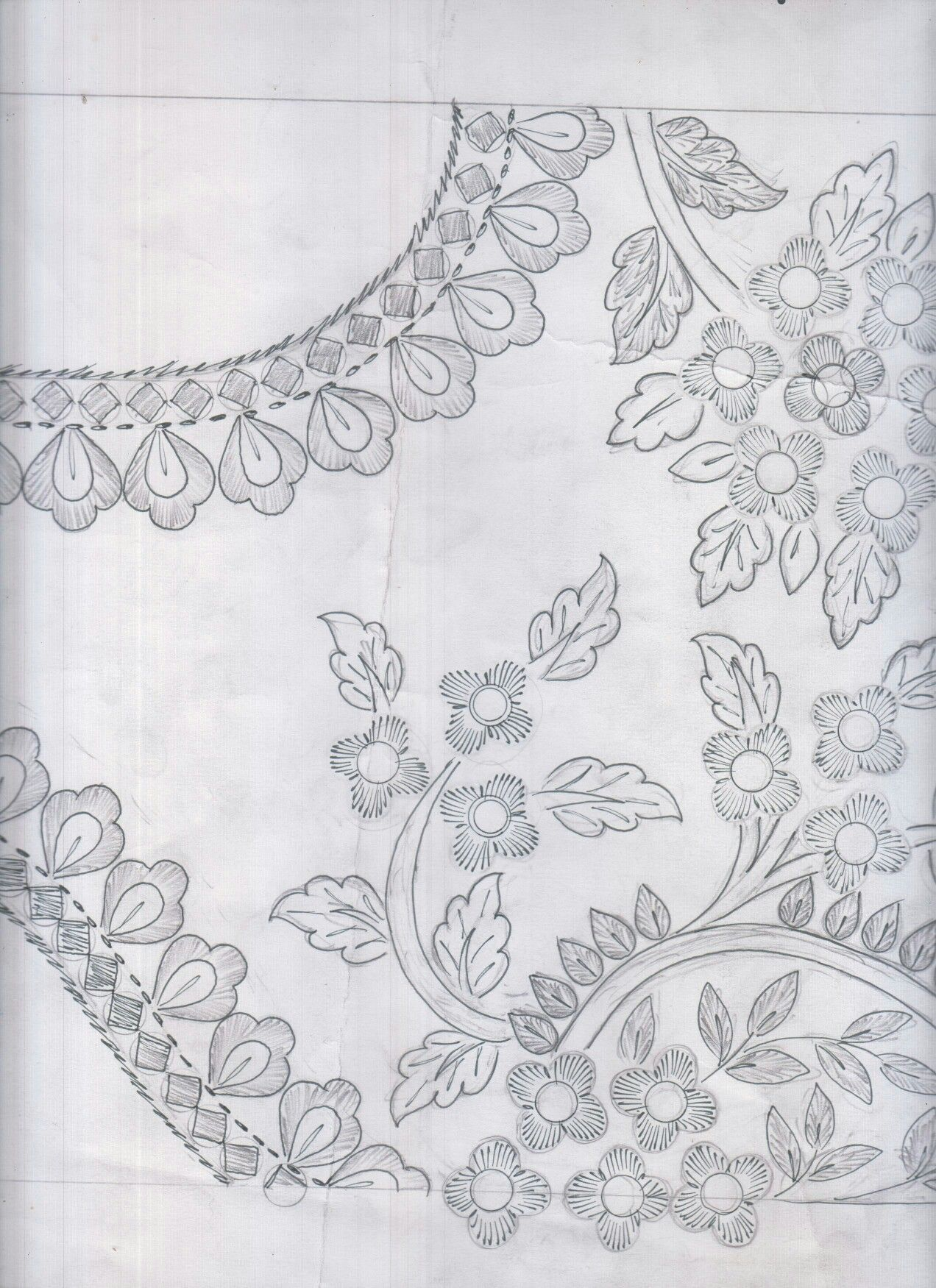 Floral Designs, Embroidery