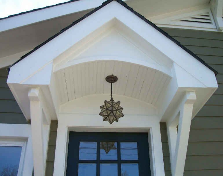 AFTER: Close Up Pic Of Front Door Showcases The Intricate Details Of The  Incredible