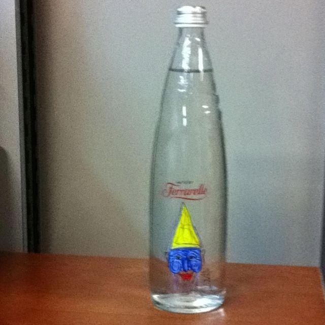 Ferrarelle Platinum Edition Water Bottle Dish Soap Bottle Bottle