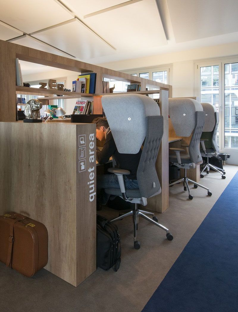 Office Design Idea Create A Designated Quiet Area Corporate