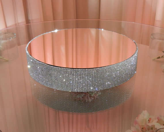 16 Quot Round 3 Quot Tall Crystal Cake Stand En 2019 Bases Y