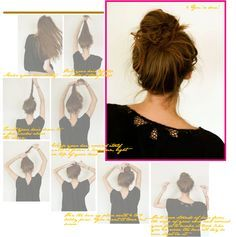 A Perfectly Messy Bun Tutorial I Could Never Get My Buns To Look Good