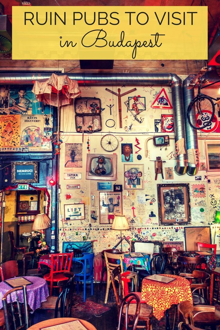 Take an abandoned building, Christmas lights, a bit of edgy décor, and a proper amount of liquor, and you've got one of the most fun place to visit in Budapest, Hungary—a ruin pub.