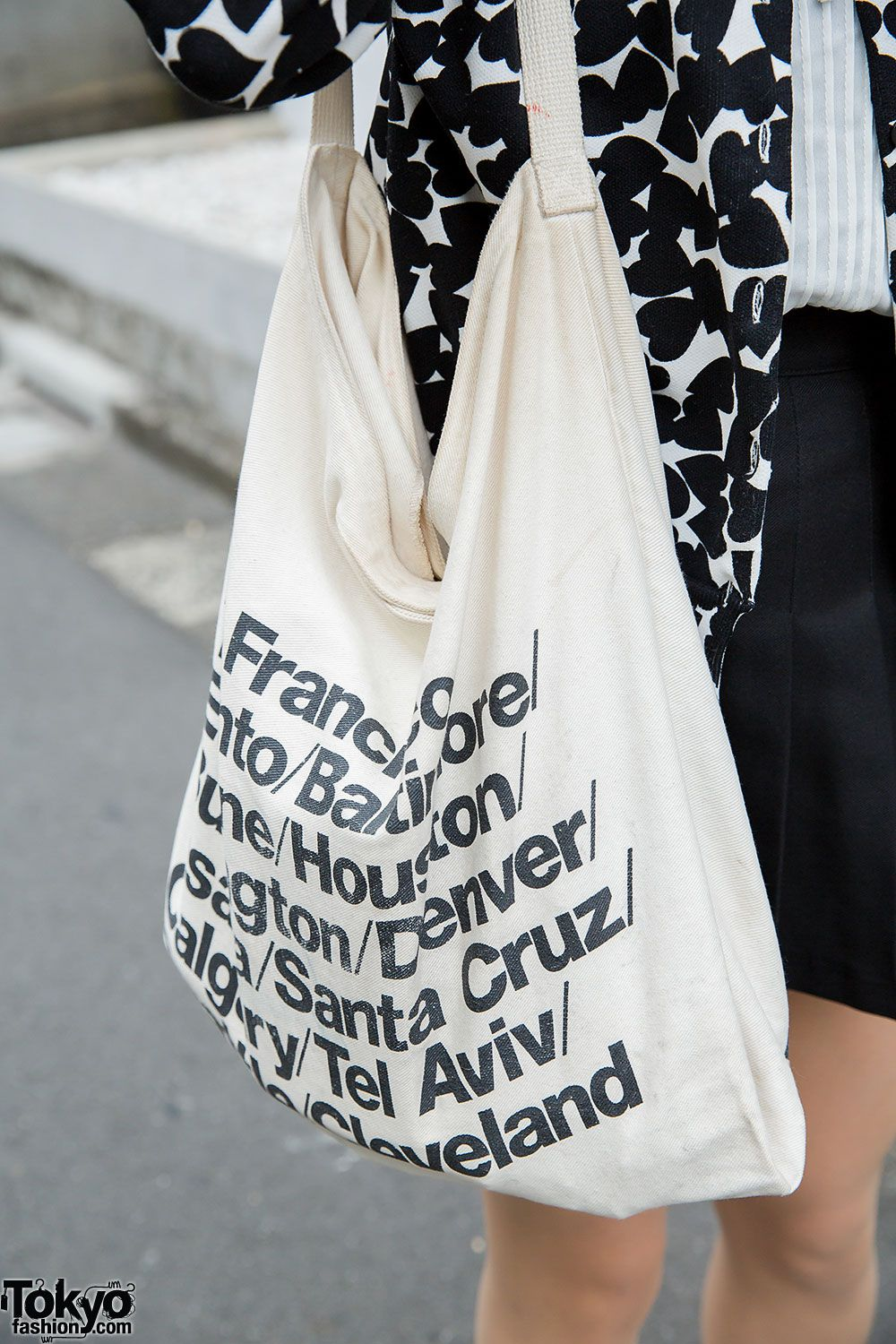 472c3873d6f American Apparel Cities Tote Bag | pack a change of clothes cuz it's ...