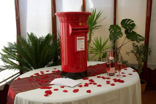 The Chocolate Fountain Ladies Wedding Post Boxes
