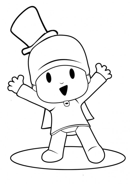 Having Fun With Free Pocoyo Coloring Pages In 2020 Cartoon Coloring Pages Disney Characters Pictures Disney Coloring Pages
