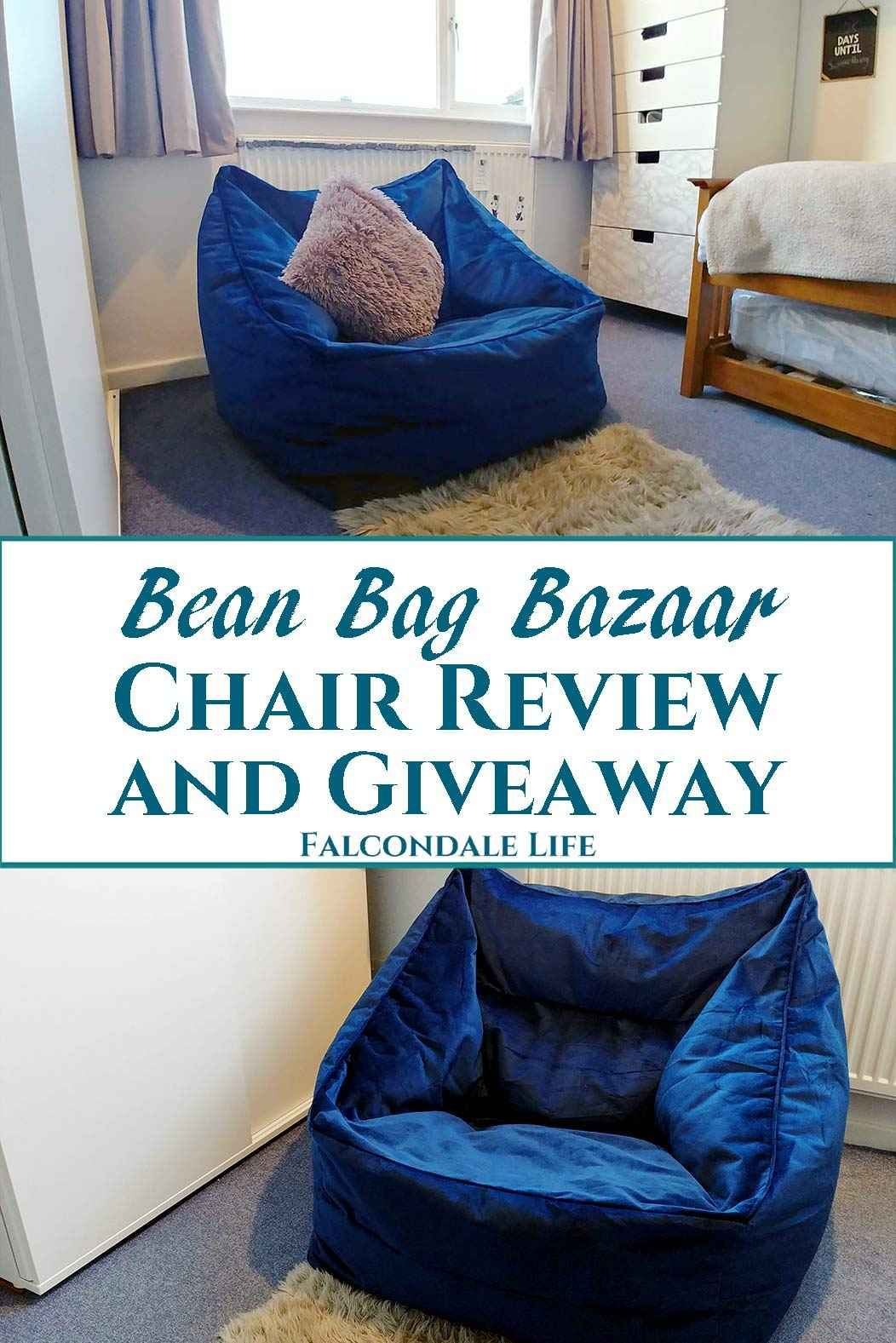 Bean Bag Bazaar Chair Review and Giveaway Bean bag