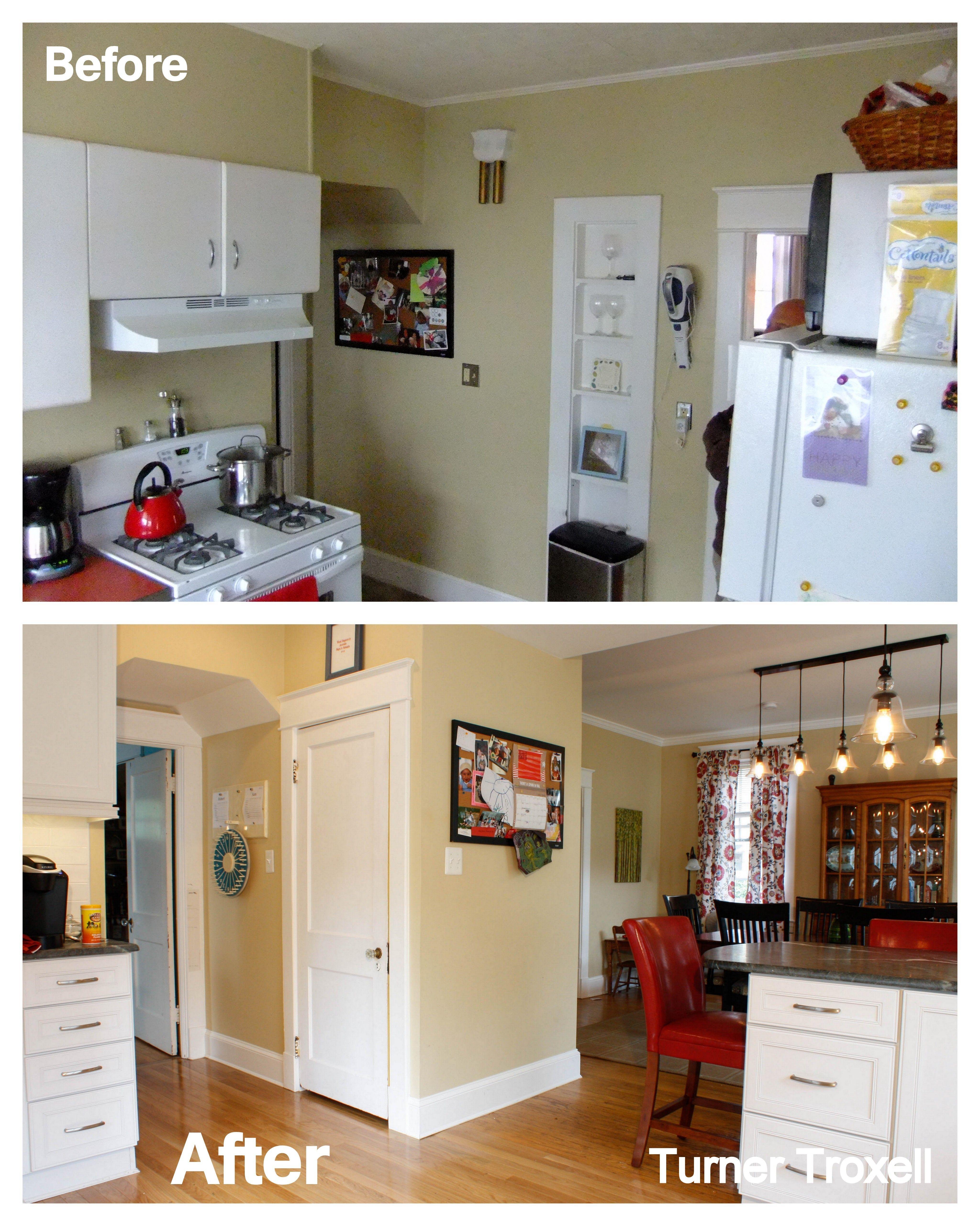 Baltimore Kitchen Before After Kitchen Kitchen Cabinets Home Decor