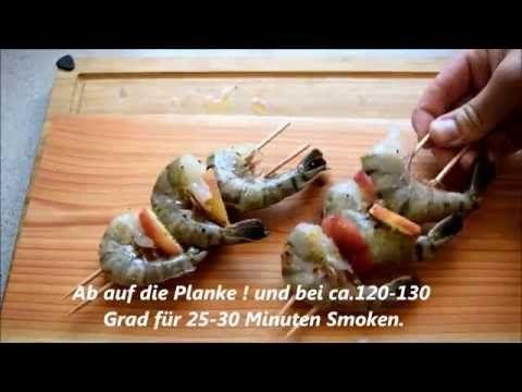 Garnelen Spieß    pit-blog