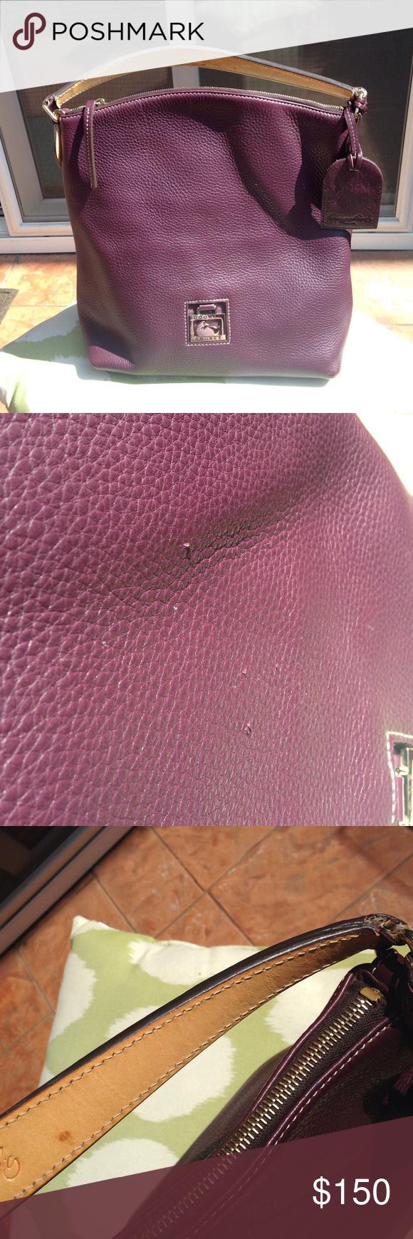 Authentic Plum Dooney u0026 Bourke Bag Authentic