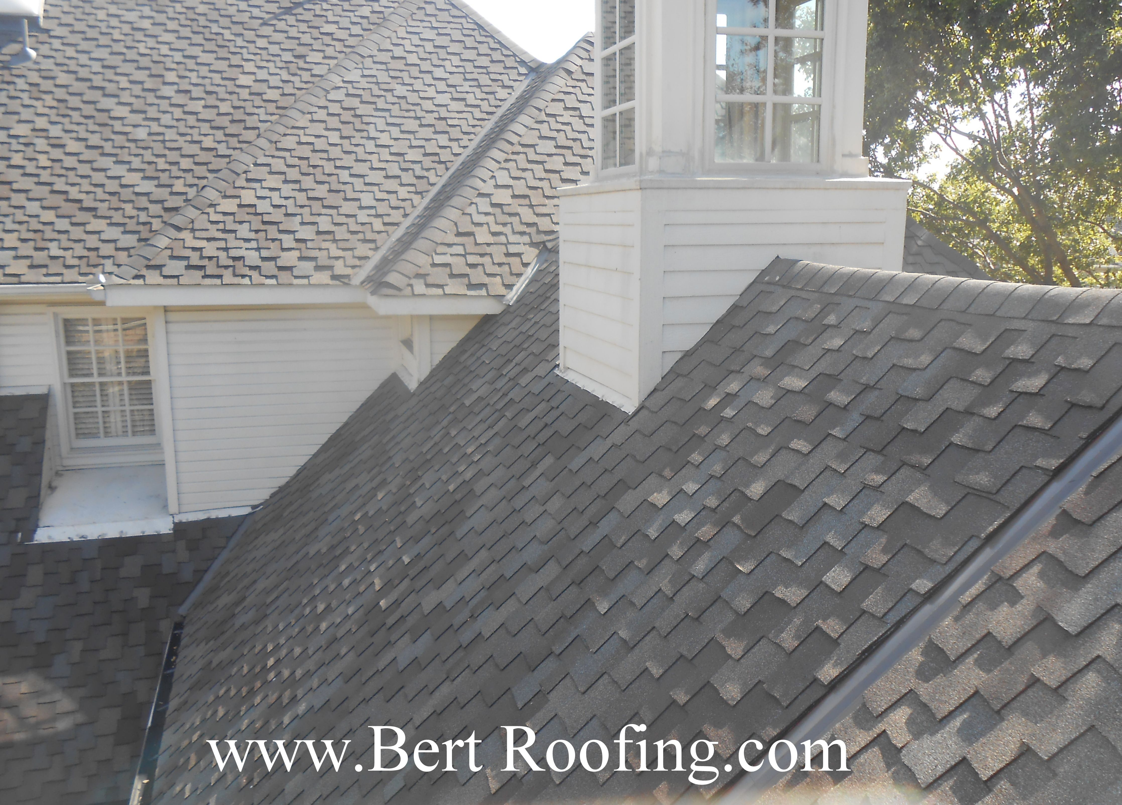 Certainteed Presidential Composition Shingle Color Weathered Wood Installed By Bert Roofing Inc Of Dallas In Wylie House Exterior Roofing Roofing Contractors