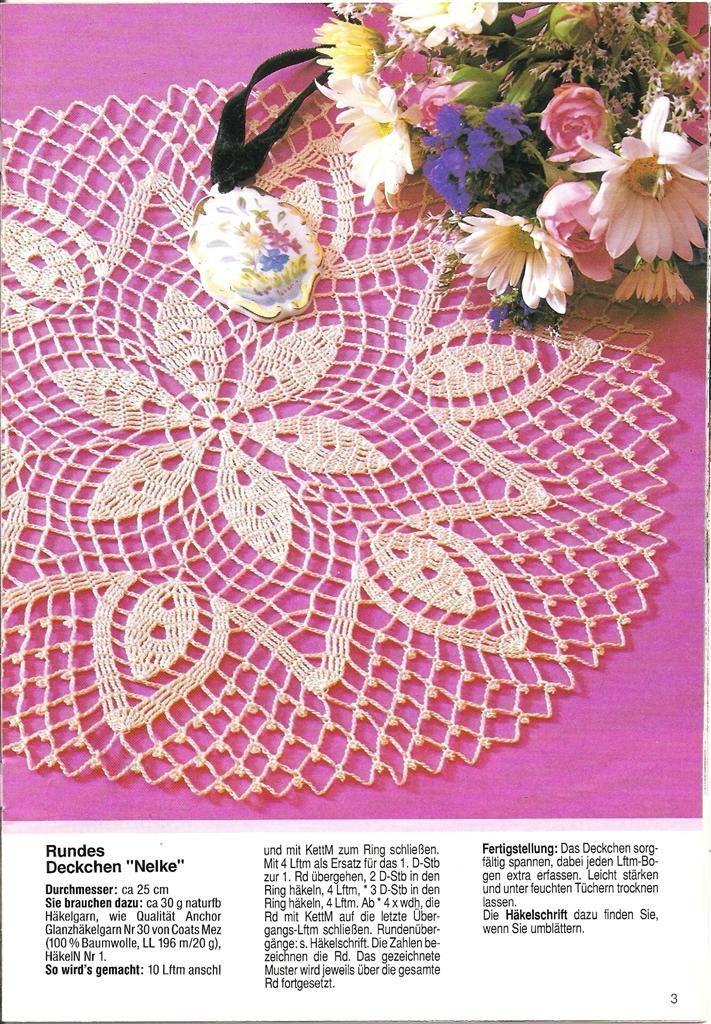 Архив альбомов   Crochet - Doilies   Pinterest   Picasa, Album and ...