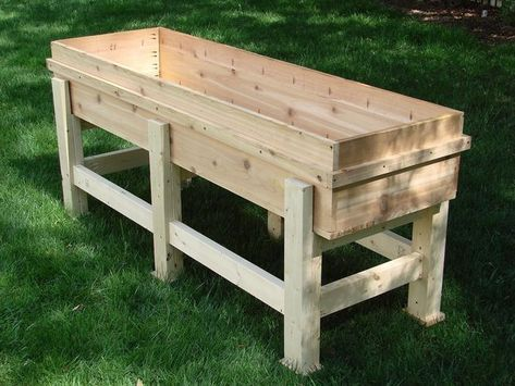 Waist High Planter Box | Planter boxes, Building a raised ...