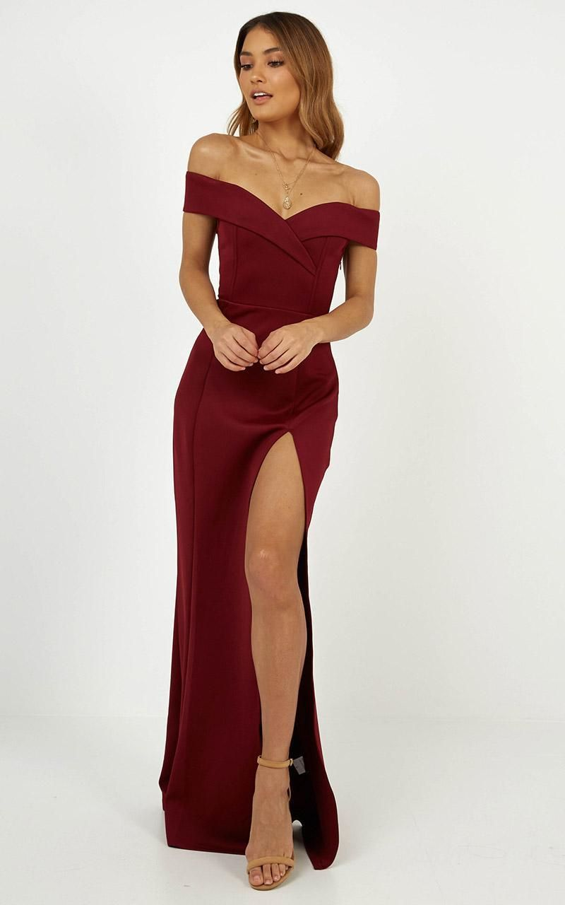 One For The Money Dress In Wine Showpo Red Dresses Classy Classy Dress Year 10 Formal Dresses [ 1280 x 800 Pixel ]