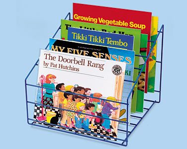 Image result for book stands in the classroom