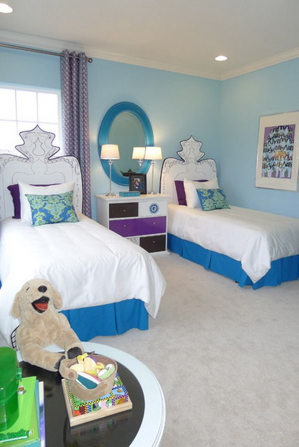 Color Schemes For Teen Girls Bedrooms | ... Color Scheme Ideas Coordinating Girls  Bedroom Color Scheme With