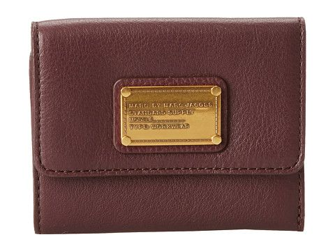Marc by Marc Jacobs Classic Q New Billfold Bright Persimmon - Zappos Couture