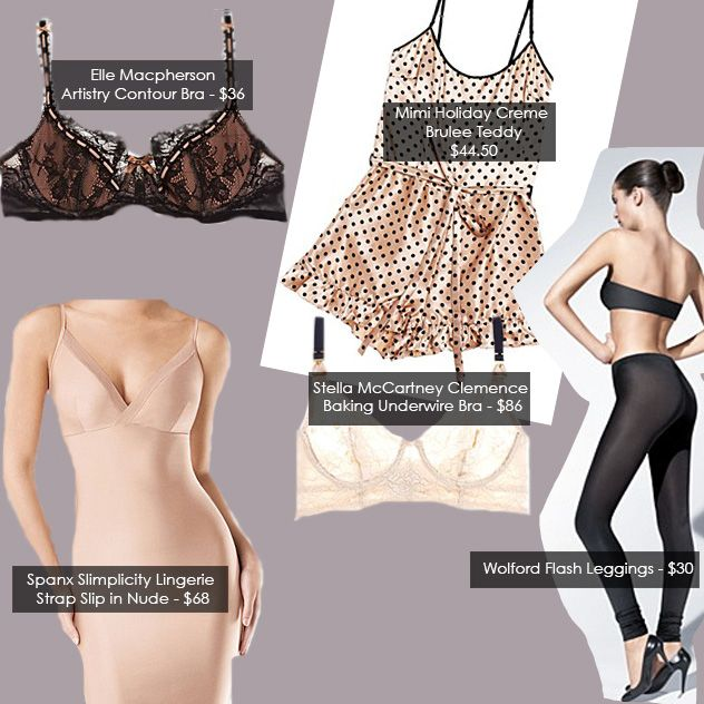 Undergarments - Editorial Advert: Lingerie is the Foundation for Every Great Wardrobe on http://www.poshglam.com
