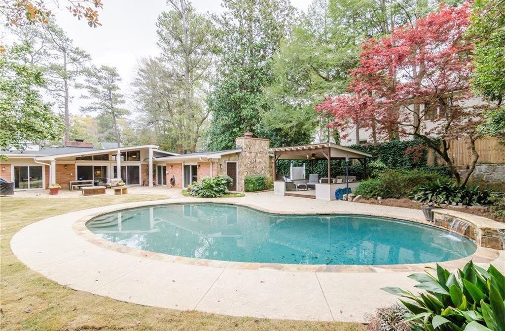 3230 N Wood Valley Rd Nw Atlanta Ga 30327 Mls 5818258 Zillow Pool Cabana Pool Midcentury Modern