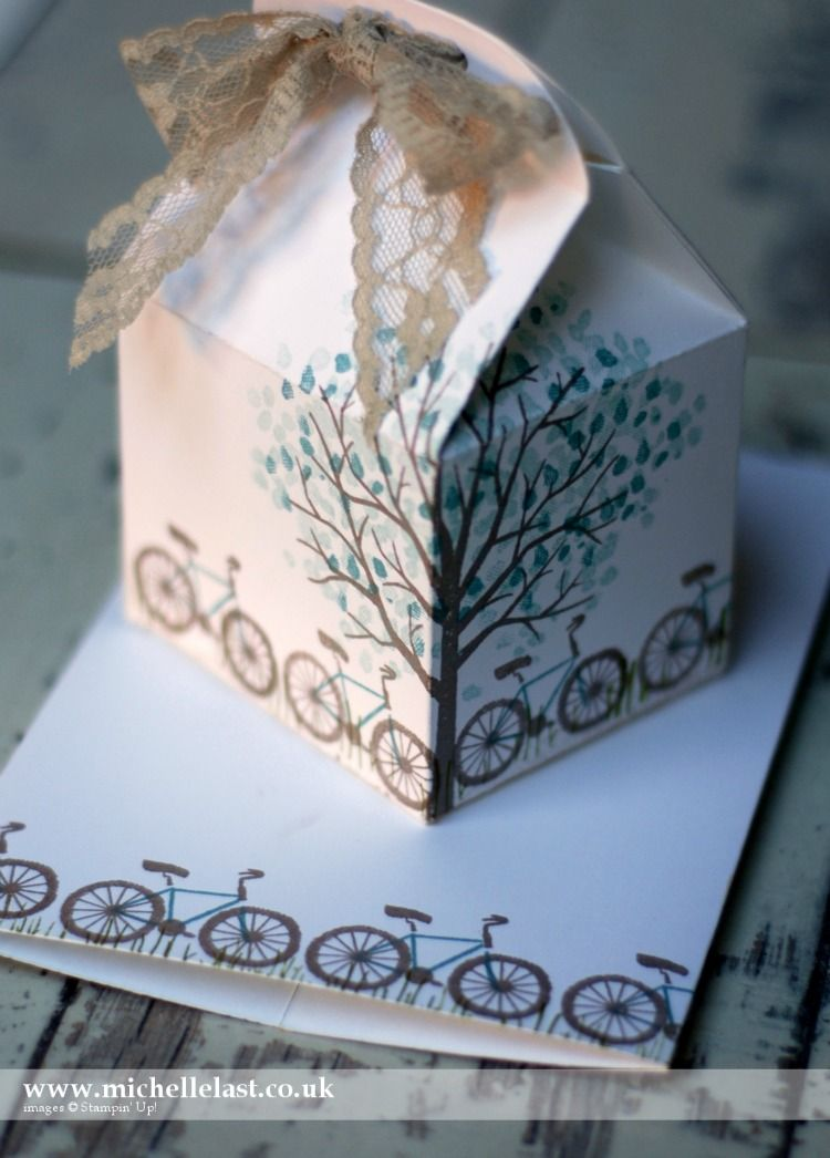Bakers Box Thinlits from Stampin Up