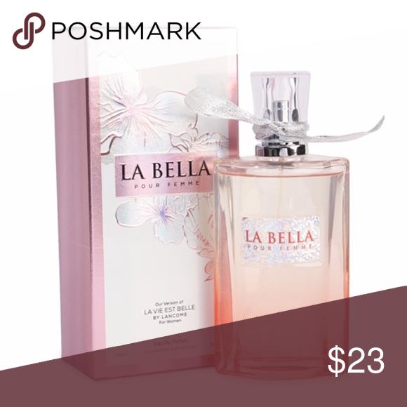 39ead48d5 LA BELLA 3.4 oz, WOMEN'S EXOTIC EDP, OUR VERSION LA BELLA Pour Femme is a  sophisticated women's Impression perfume of La Vie Est Belle by Lancome.