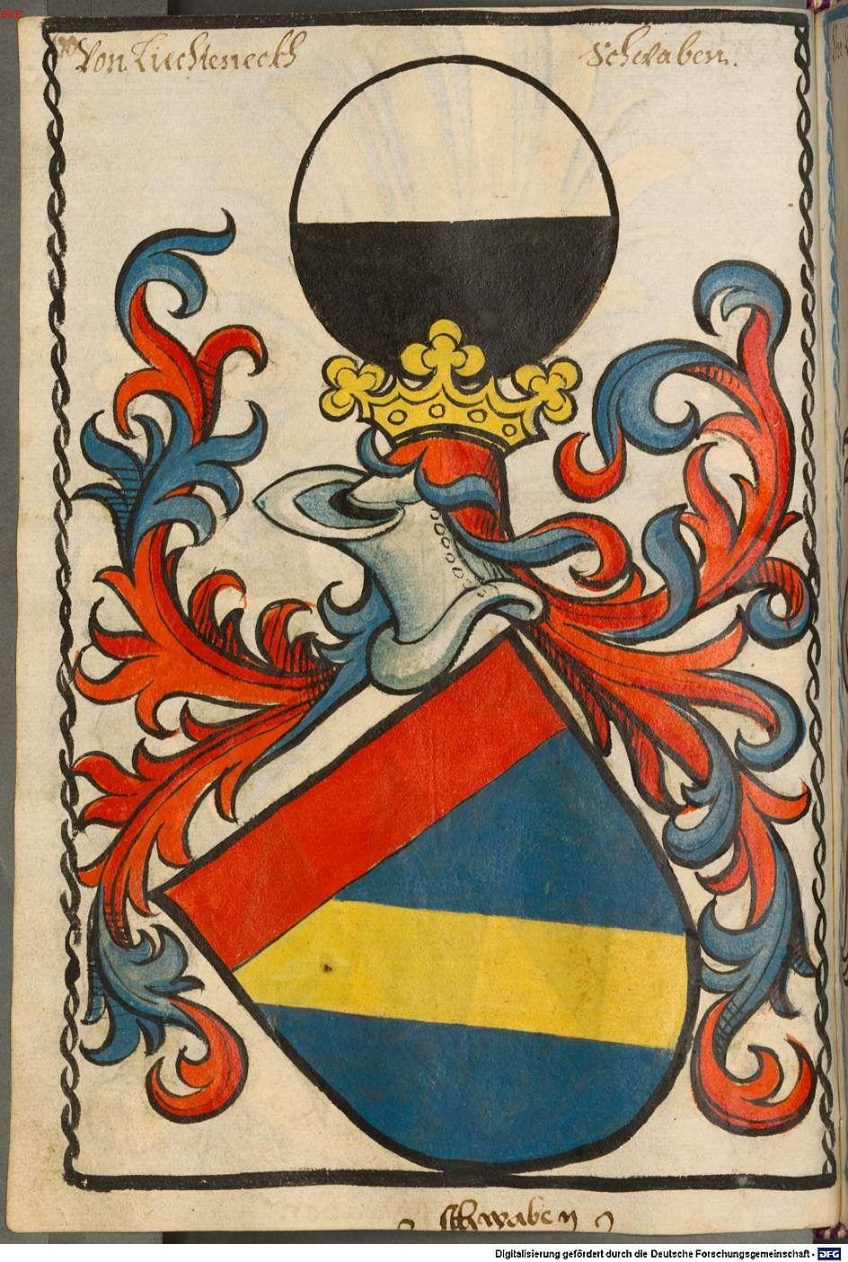 Scheibler'sches Wappenbuch Süddeutschland, um 1450 - 17. Jh. Cod.icon. 312 c  Folio 60