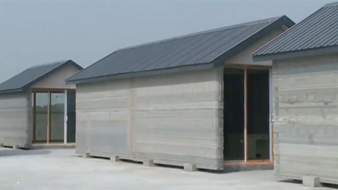Ten Full-Sized Houses Built In 24 Hours With The Help Of 3D Printers - [Click on Image Or Source on Top to See Full News]