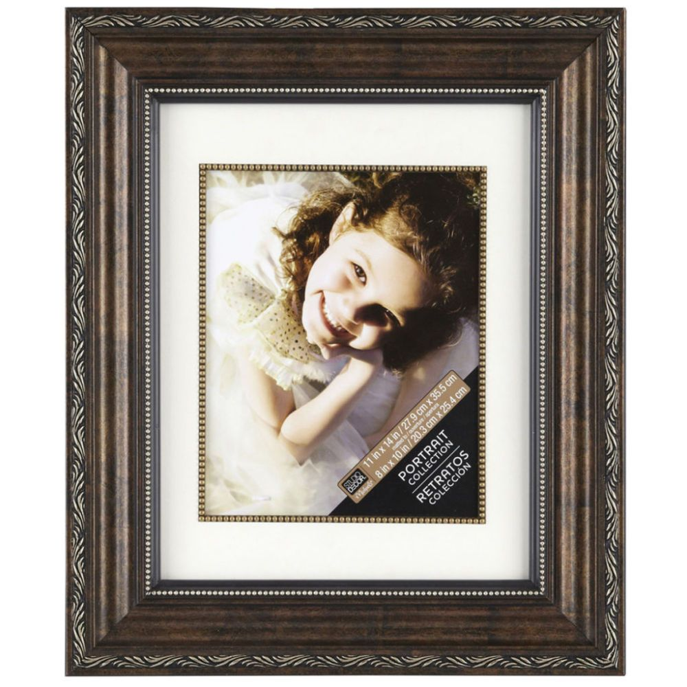 Bronze Ornate Frame 11 X 14 With 8 X 10 Mat Home Collection By Studio Decor Studio Decor Frames Frames On Wall Frame