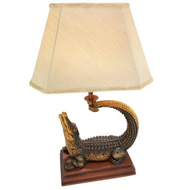 Beacon Of The Everglades Alligator Lamp Lamp Table Lamp Novelty Lamp