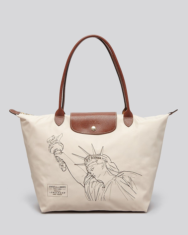Longchamp Tote - Le Pliage Statue of Liberty  ea0b0c613084d
