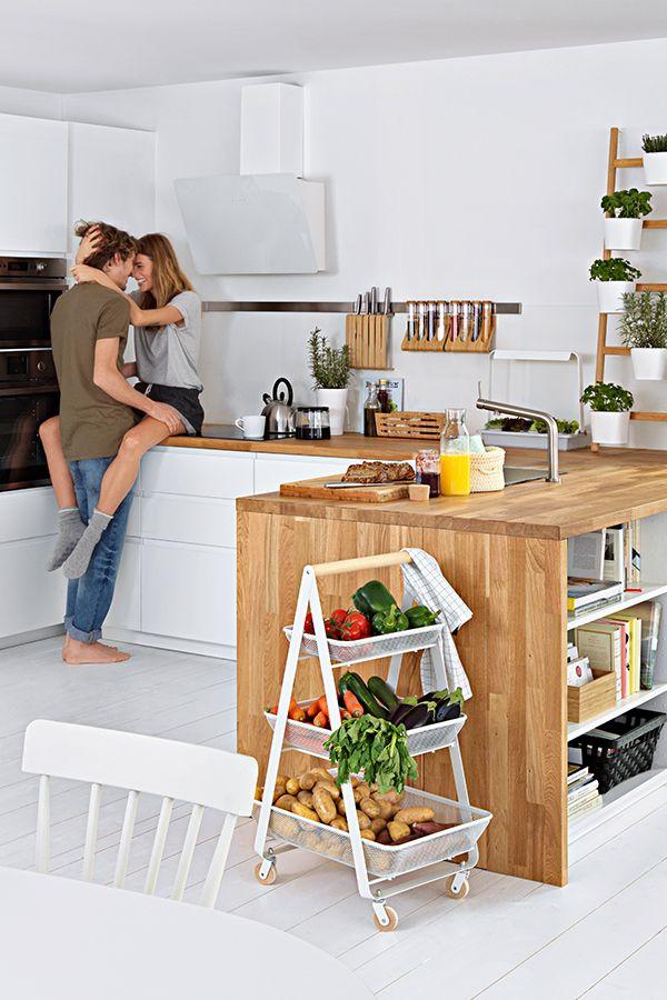 Risatorp Servierwagen Weiß Kitchen Ikea Home New