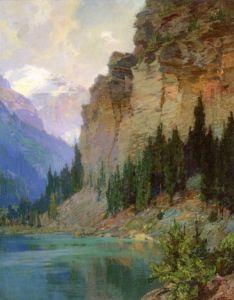 In the Far Northwest - Edward Potthast - The Athenaeum