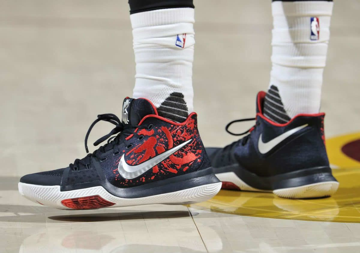 Kyrie Irving debuts the Nike Kyrie 3