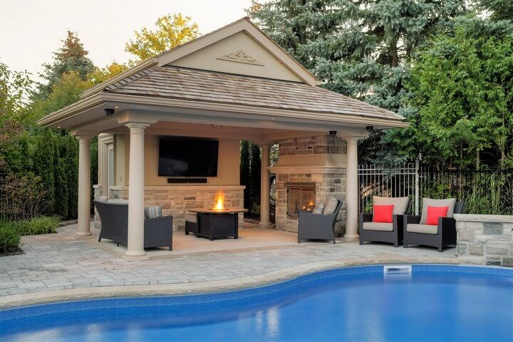 Swimming Pool Gazebo Ideas Pool House Designs Pool Gazebo Pool