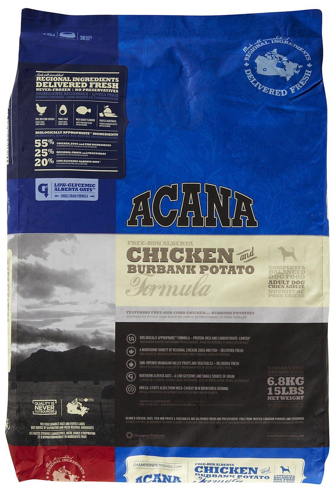 Acana Chicken Potato Dog Potato Dog Chicken Potatoes Dog
