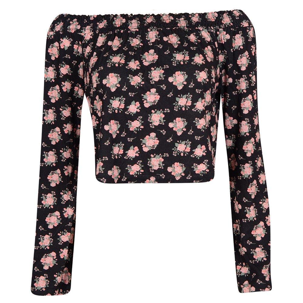 #Blusa #Floral #Ciganinha #Raglan - #parisienne via @gangoficial