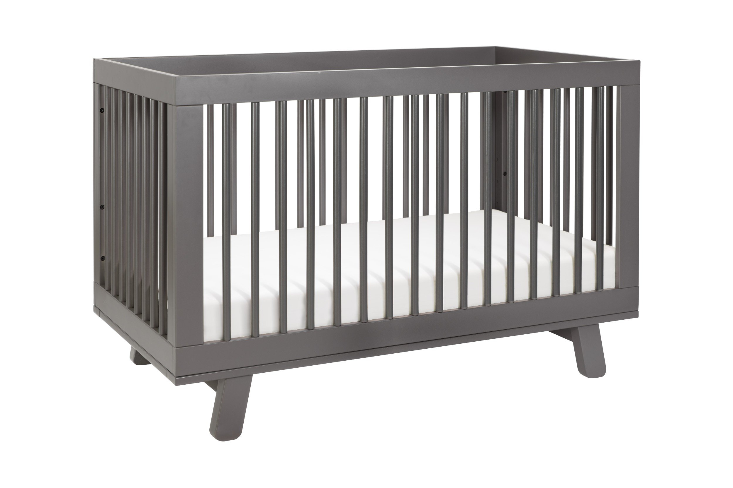 Hudson 3-in-1 Convertible Crib with Toddler Bed Conversion Kit