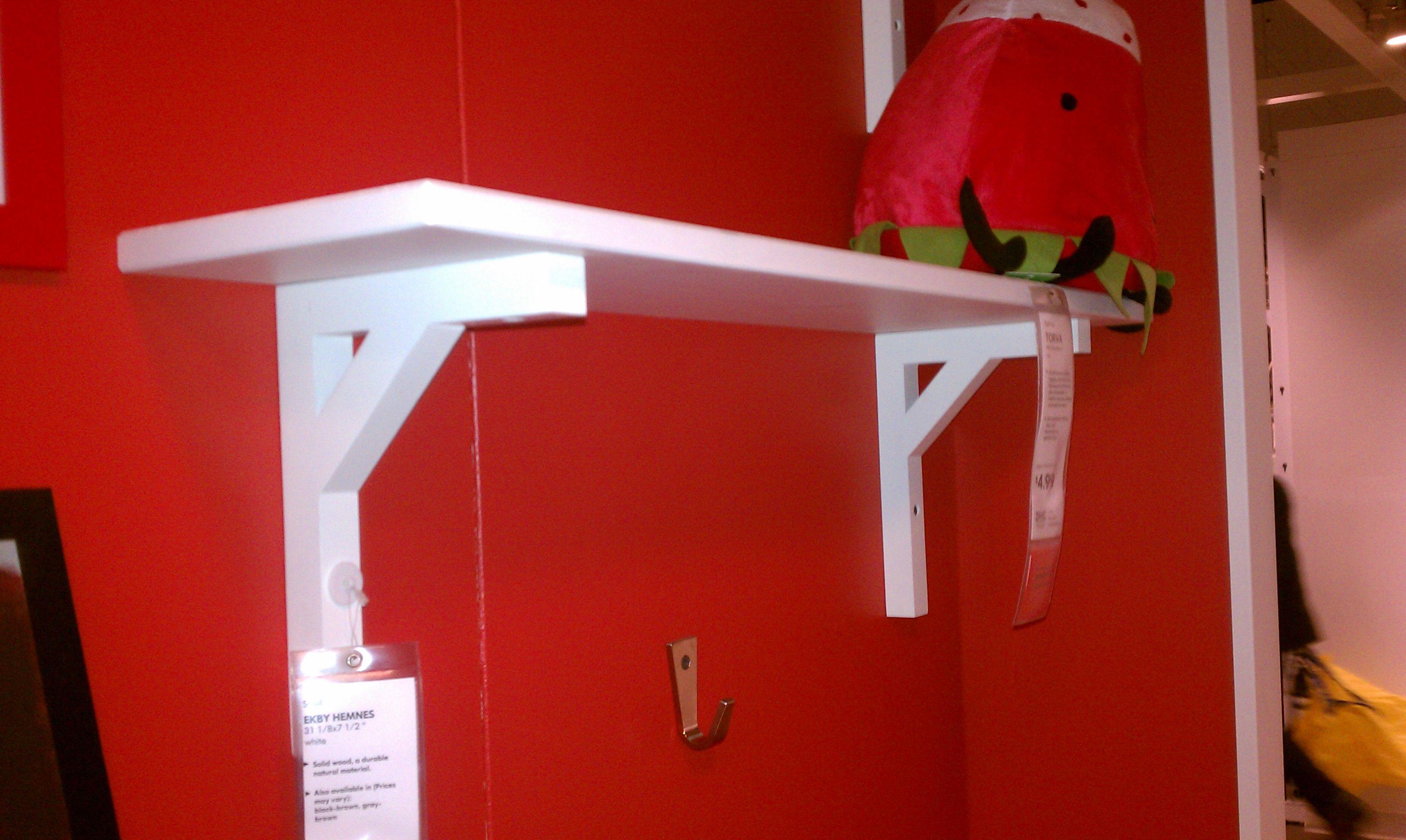 Ikea Shelves Hemnes Daybed In A Boys Bedroom: $15 Ekby Hemnes Shelf Ikea