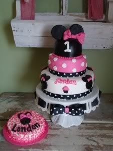 Minnie Mouse Walmart Cakes