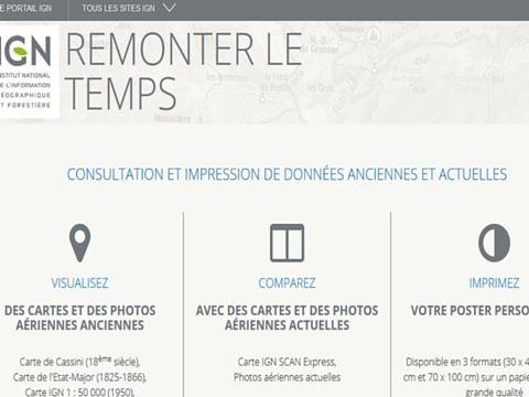 Comparer Des Cartes A Diffeerentes Dates Avec L Ign Carte Ign