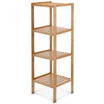 Bambus Badregal 4 Ablagen Home Decor Decor Shelves