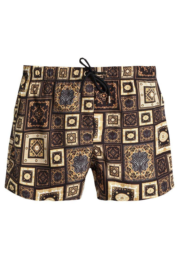 mehr Fotos 8a66b 89810 Versace TESSUTO TECNICO - Badeshorts - white/black/gold für ...