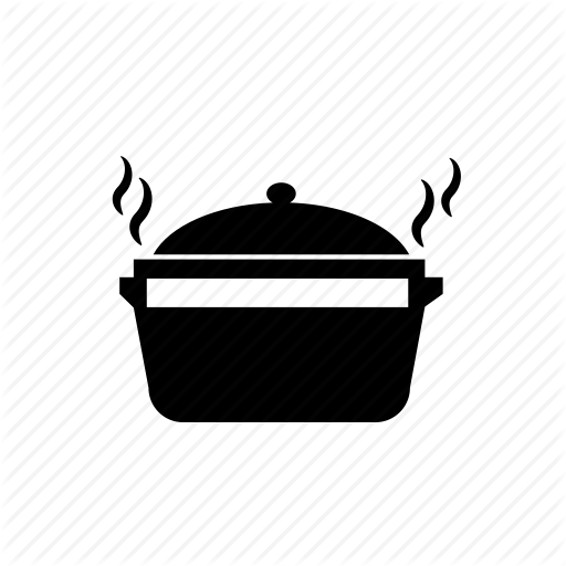 Food Pot Hot Hot Food Pot Pot Icon Download On Iconfinder Hot Meals Kitchen Themes Cooking Logo