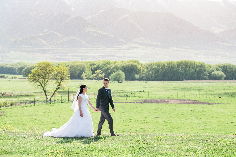American west heritage center farm wedding photos cache valley