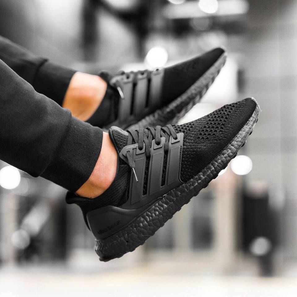 finest selection ee679 820d7 Adidas Ultra Boost - Triple Black - 2016 (by inmidoutsole) Pack and travel  with shoe trees by Sole Trees  Sneakers  ShoeTrees  SoleTrees   ...