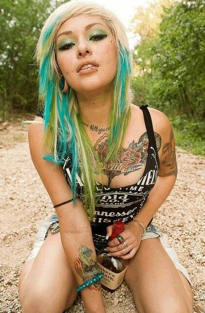 Sexy White Trash Girl
